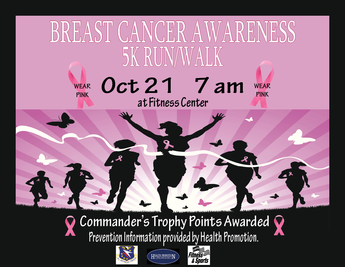 sneakers for cheap 6af30 d5edf Breast Cancer Awareness 5K Run/Walk   Columbus AFB Living