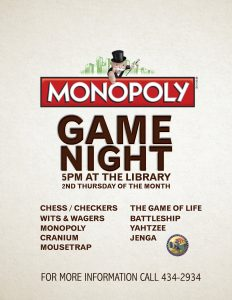 Game Night at the Library @ Library