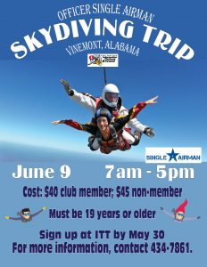 Skydiving Trip June