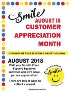 Customer Appreciation Month @ Various