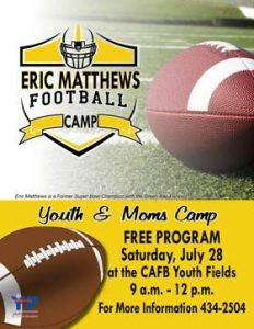 Eric Matthews Football Camp @ Youth Fields