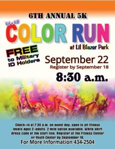 Color Run @ Lil Blazer Park