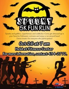 Spooky 5K Fun Run @ Fitness Center