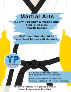 Martial Arts @ Youth Center