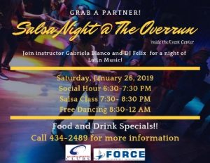 Salsa Night @ Event Center