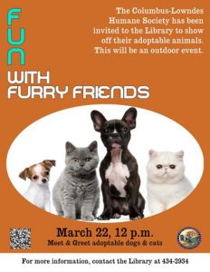 Copy of Fun with furry friends