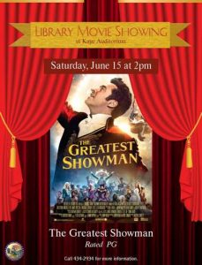 'The Greatest Showman' Movie Matinee @ Kay Auditorium