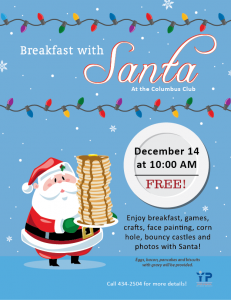 Breakfast with Santa @ Youth Center