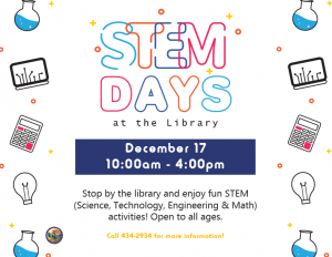 Stem Day @ Library