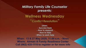 Wellness Wednesday-Conflict Resolution on ZOOM