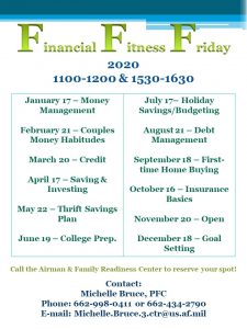 **Event Suspended**Financial Fitness